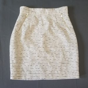 H&M Tweed Pencil Skirt with Pockets